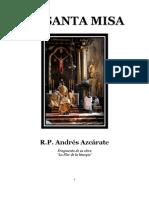 La Santa Misa (Andres Azcarate)