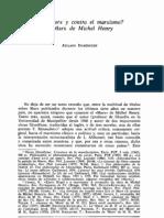 Atilano Domínguez - El Marx de Michel Henry