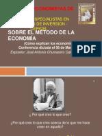 Sobre El Metodo de La Economia-V2003