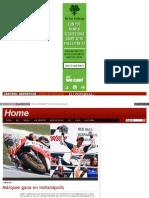 Márquez gana en Indianápolis