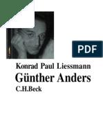 Liessmann, K. Paul - Günter Anders