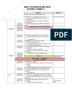 Yearly Planner Science Fm 1 2012