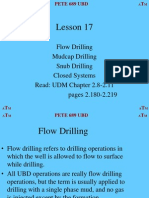 Lesson 17 Flow Mudcap Snub Closed Systems