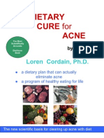 Loren Cordain - The Dietary Cure for Acne