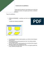 Construcción de cuadriláteros(1)