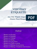 02 Everyday Etiquette