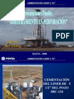 CEMENTACIÓN DE LINER