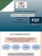 19. El Acto Administrativo