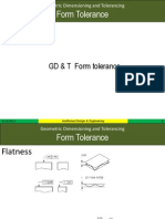 Form Tolerance Gdt