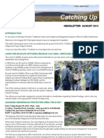 SEQ Catchments Catching Up Aboriginal Newsletter 2013