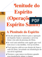 A Plenitude Do Espirito - Operacoes Do Espirito Santo