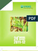 Vikas Wsp Annual Report 2011 12