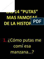 Las 14 Putas Mas Famosas de La Historia (Af). (f). (r). (Rig). (Ya)