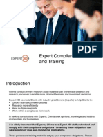 Expert Compliance Training