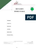 Formato Dictamen Estructural 2013
