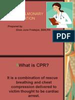 Cardiopulmonary Resusitation