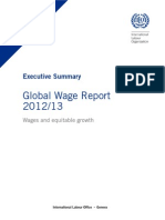 ILO Global Wage Report 2012-13 Summary