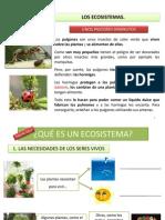 4Los Ecosistemas (Unidad 5)