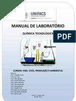 Manual de Práticas  de Quimica Tecnologica   UNIFACS 2012.2