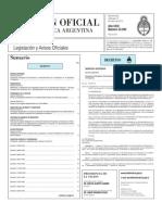 Boletín Oficial (13 de marzo de 2013)