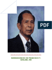 REMINISCENCES ON FRANCISCO T. GESLANI, MD ULYSSES M. CARBAJAL, MD