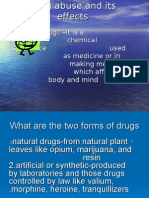 Drug Abuse and Its Effects