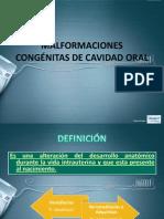 MALFORMACIONES CONGÉNITAS DE CAVIDAD ORAL.pptx