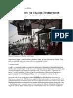 A Familiar Role for Muslim Brotherhood001