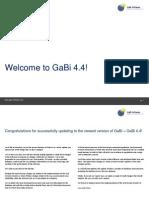 Welcome to GaBi 4.4