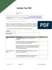 Calculate Marketing ROI - GrowthPanel.com