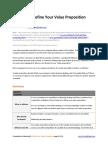 Define Your Value Proposition - GrowthPanel.com