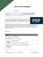 Marketing Campaign Improvement Guide - GrowthPanel.com
