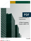 Criminal Liability of Organizations