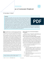 Autonomic Peripheral Neuropathy Chowdry