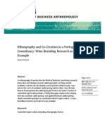 OLIVEIRA, PEDRO - Ethnography and Co-Creation in a Portuguese Consultancy Wine Branding Research as an Example