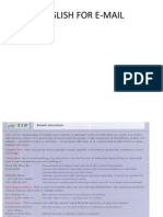 English for Email ppt