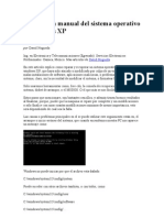 Reparación manual del sistema operativo Windows X1