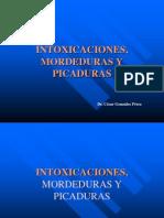 Intoxicaciones - Picaduras y Mordeduras