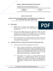 (1-2007) Guidelines on Appointment and Termination of Services of Consulting Quantity Surveyor