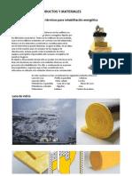 Productos y Materiales