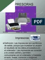 Uso y Tipo de Impresora
