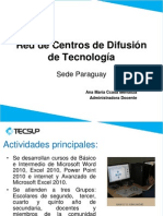Cdt Paraguay Tecsup 2012