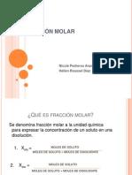 Fraccic3b3n Molar