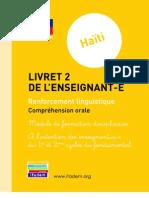 Haiti Livret 2 Comprehension Orale