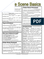Crimescene Basics Worksheet 1