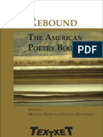 Stephen Matterson, Michael Hinds - Rebound the American Poetry Book 2004