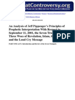 An Analysis of Jeff Pippenger's Principles of Prophetic