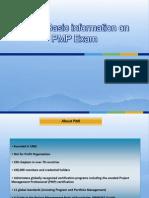 Basic Information on PMP Exam