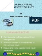 Coordinating Bussiness Travel