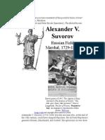Aleksander Suvorov